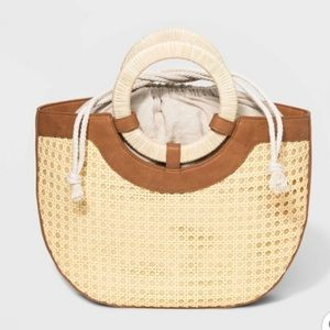 Half Moon Satchel Handbag || Universal Thread